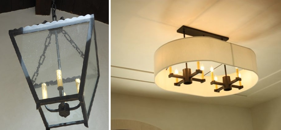 Custom Wine Cellar Lighting Fixtures