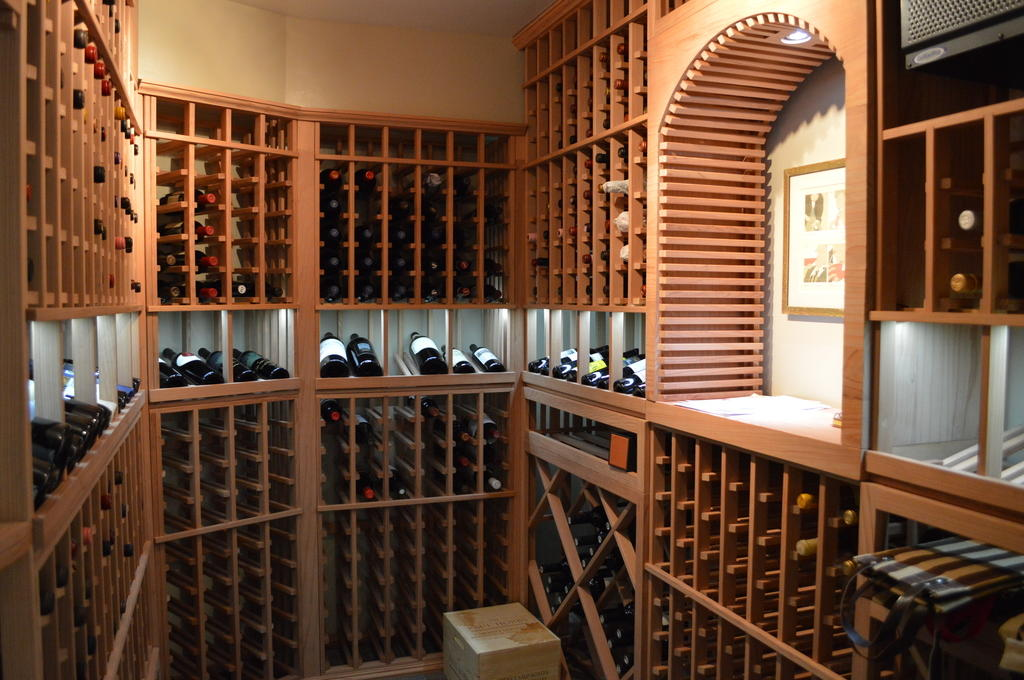 Wine cellars los angeles residential commercial wine for Home wine cellar designs